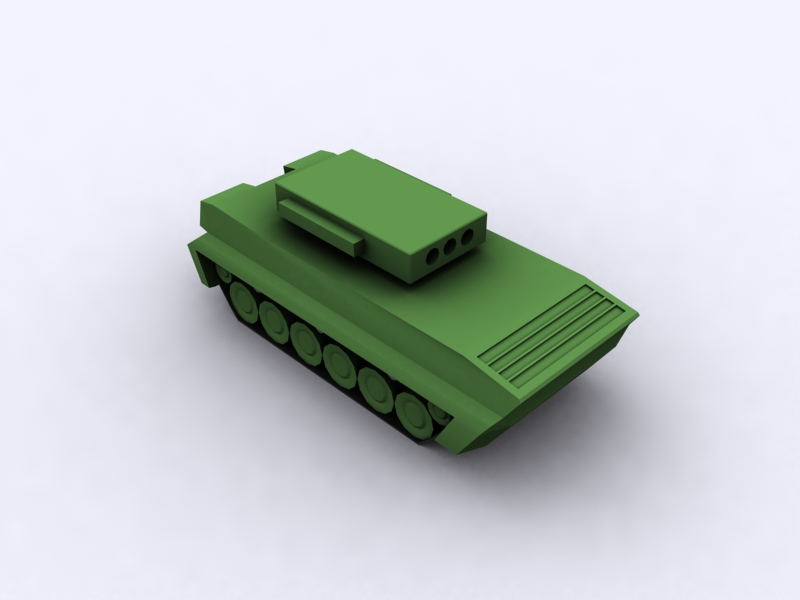 Armored vehicle for tower defender 7