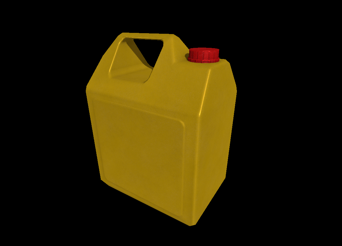 Plastic Oil Container