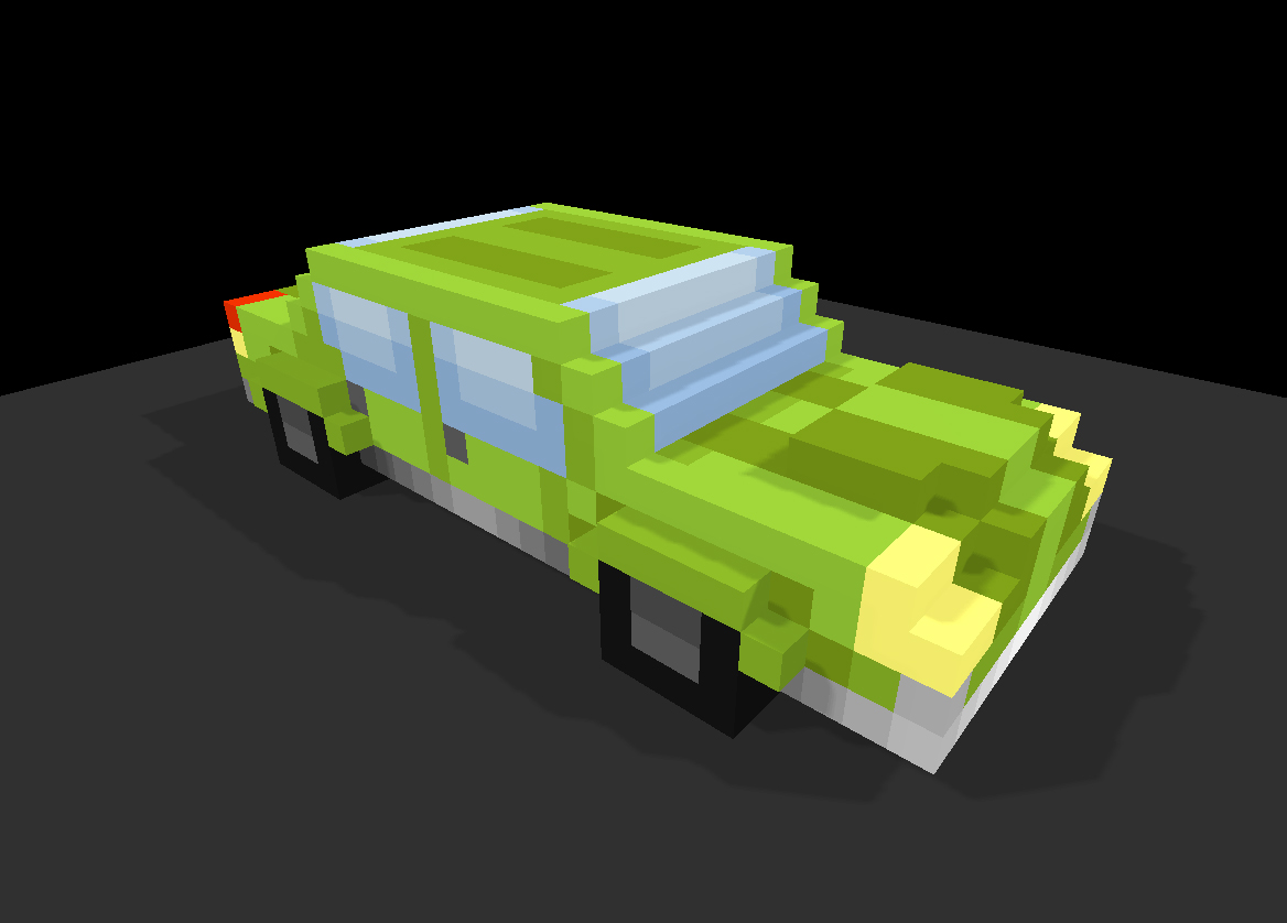 Voxel Player Car3