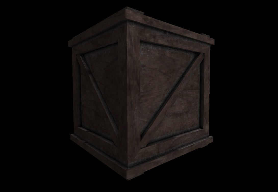 Wooden Crate 3