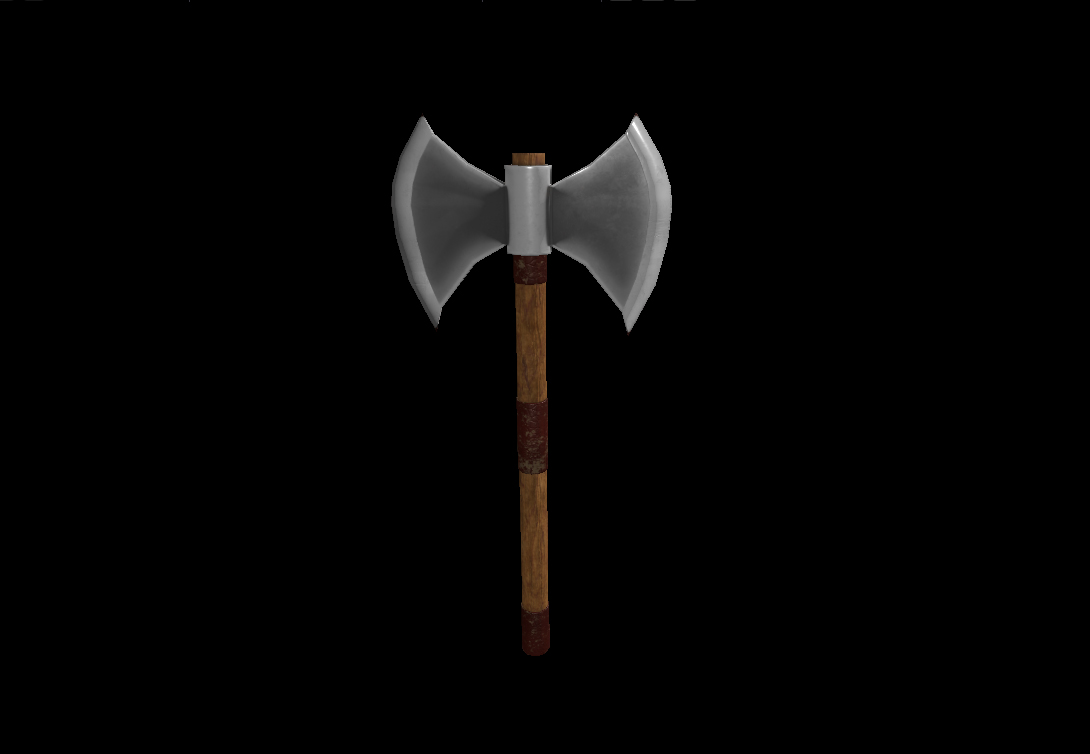 Medieval Weapons Axe