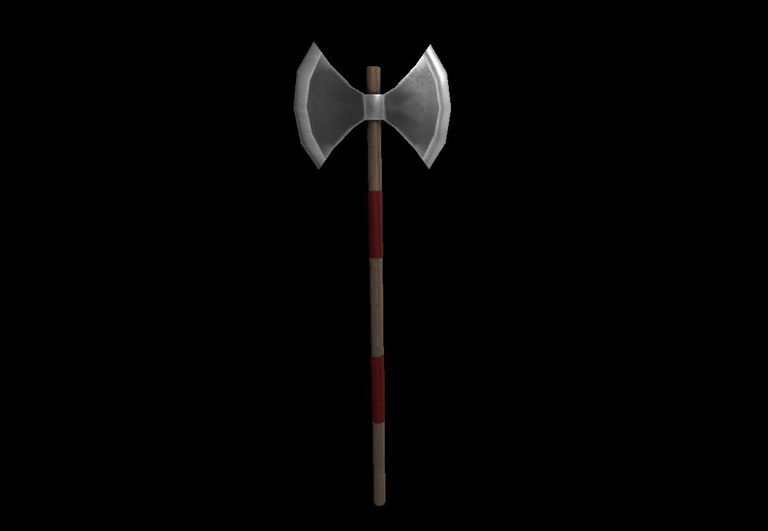 Medieval Weapons Axe 3