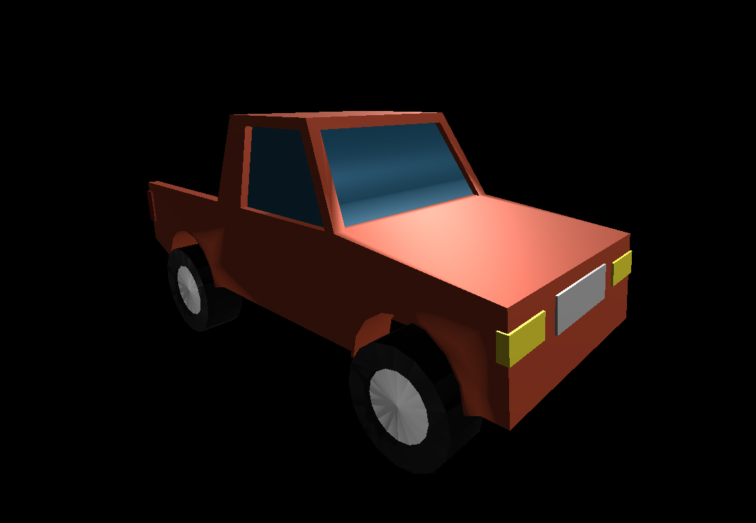 Low Poly Car 11