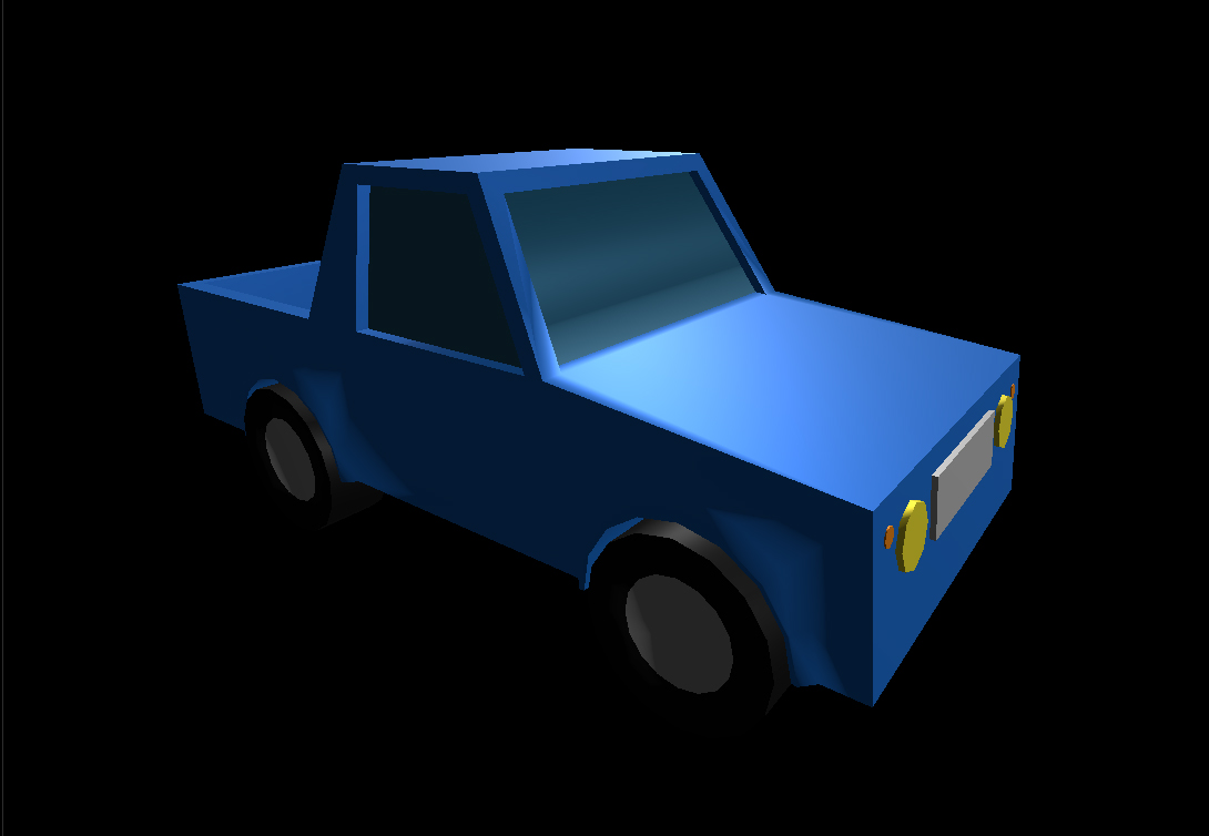 Low Poly Car 12