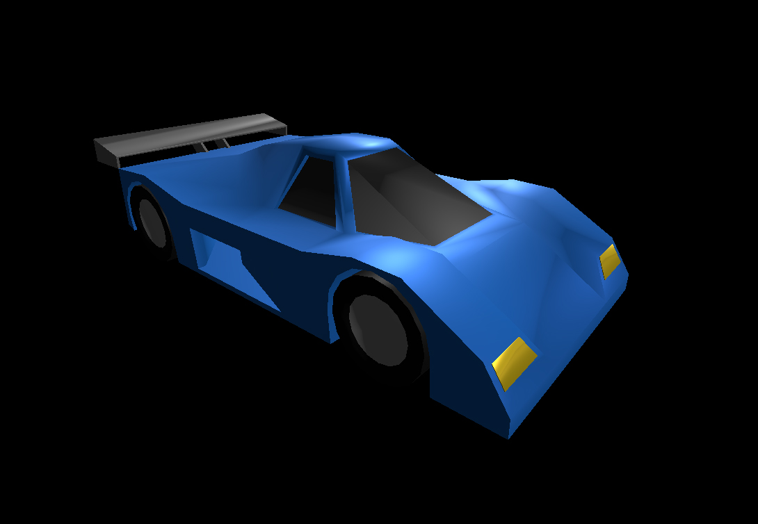 Low Poly Car 16