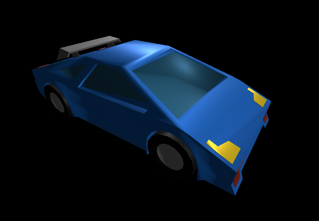 Low Poly Car 18