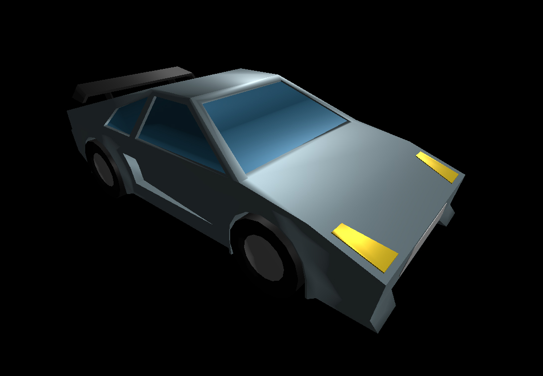 Low Poly Car 19