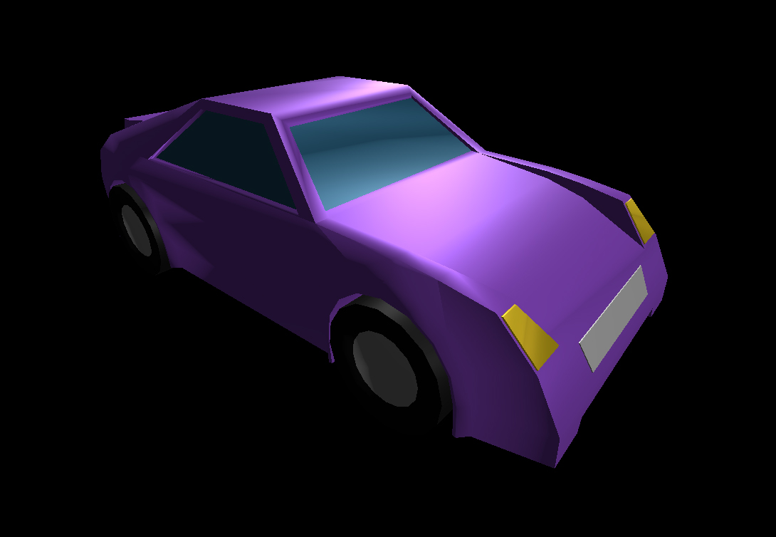 Low Poly Car 20