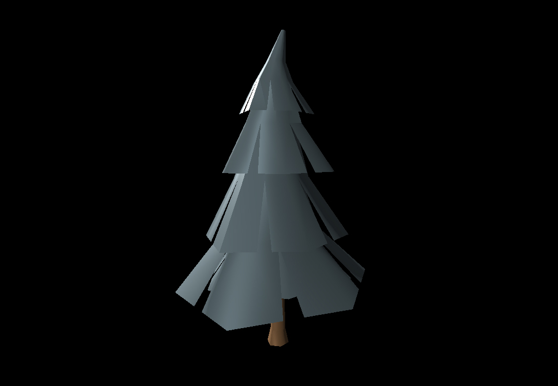 Low Poly Tree 16