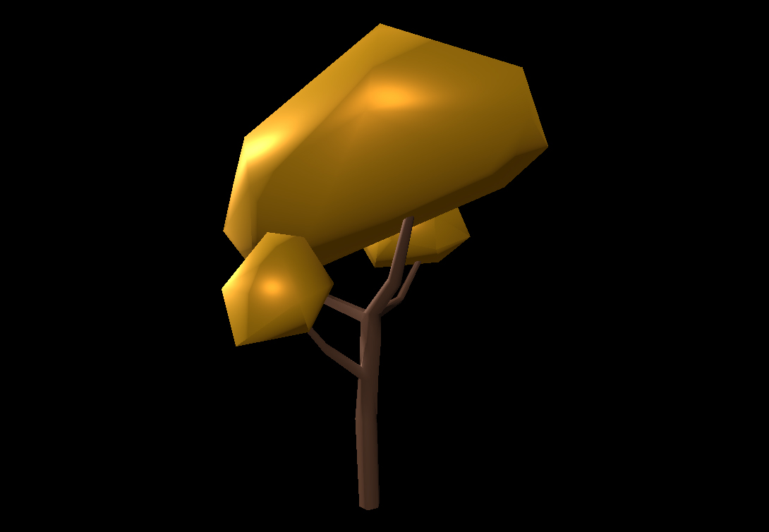 Low Poly Tree 17