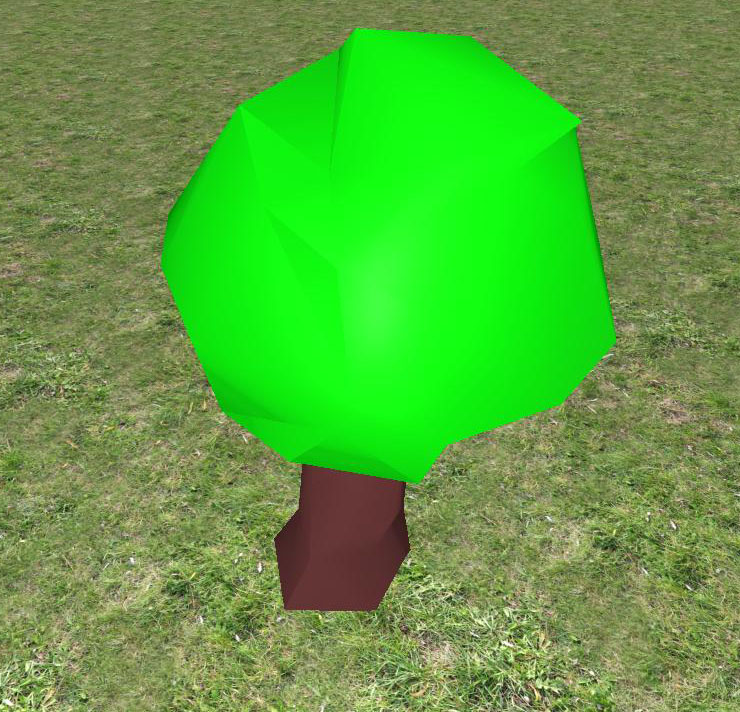 Tree 2 Low Poly