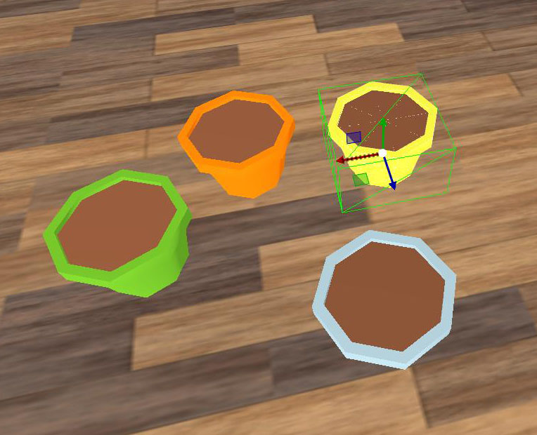 Flowerpot Pack Low Poly
