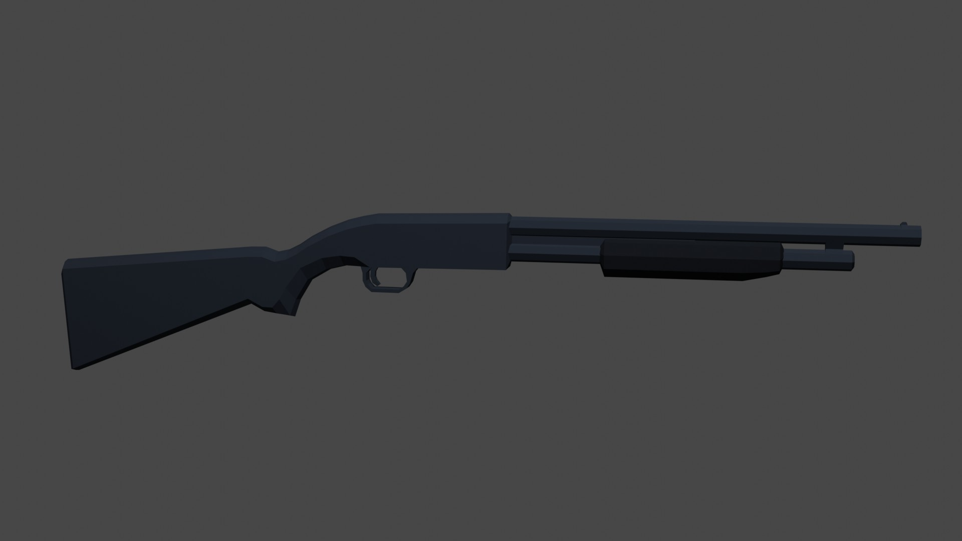 Low Poly Shotgun