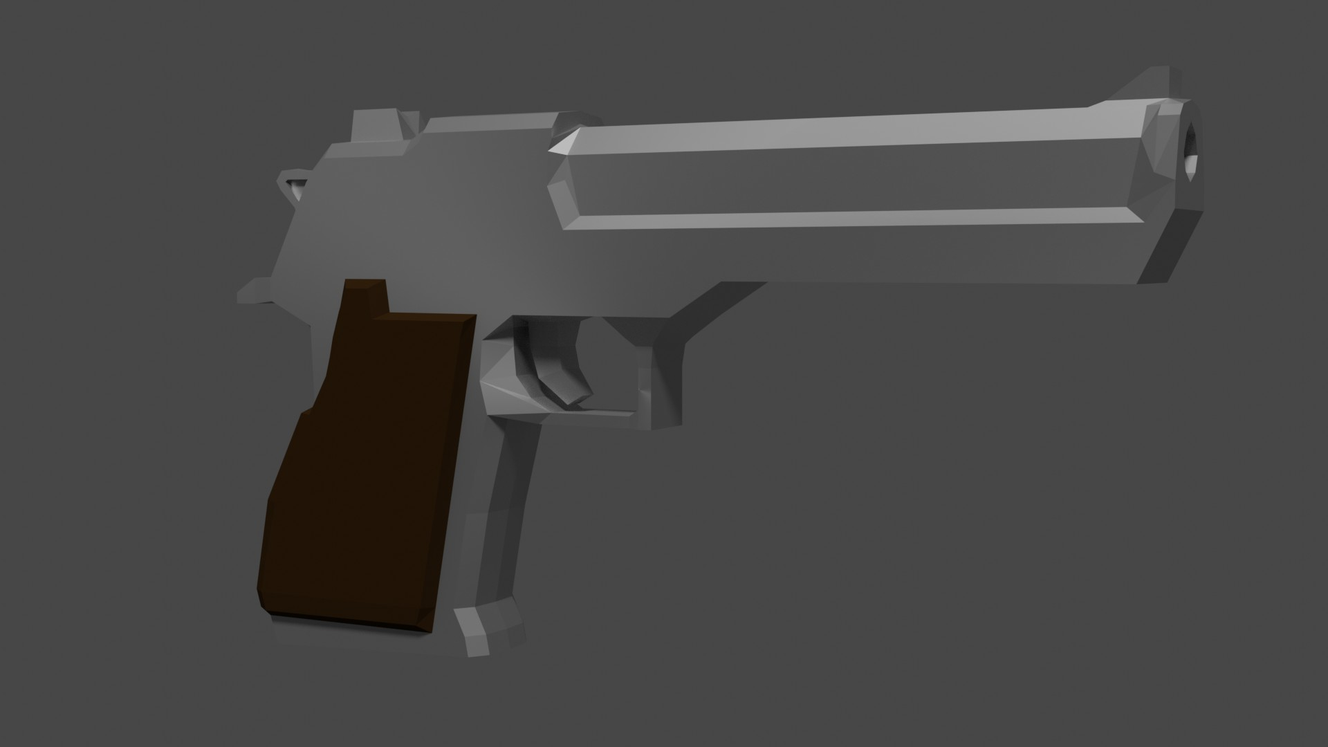 Low Poly Deagle