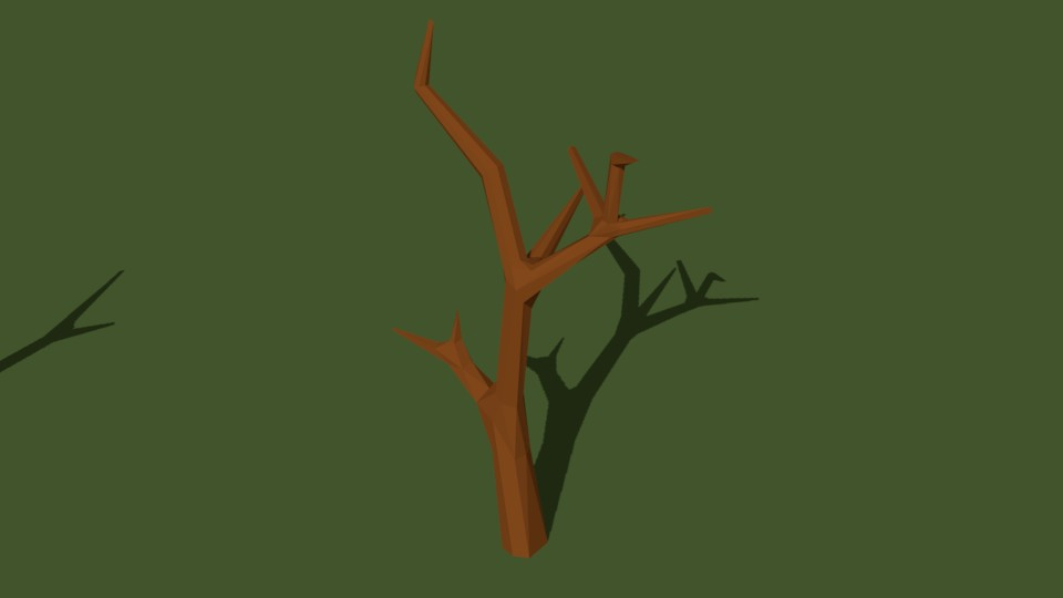 Low Poly Tree 11