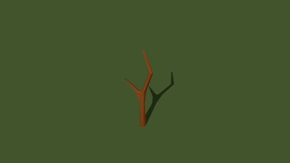 Low Poly Tree 13