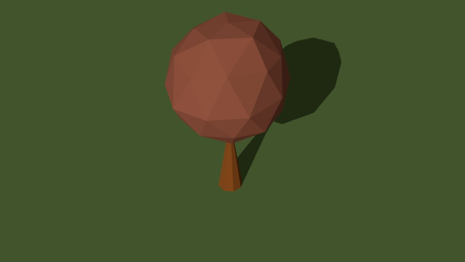Low Poly Tree 18