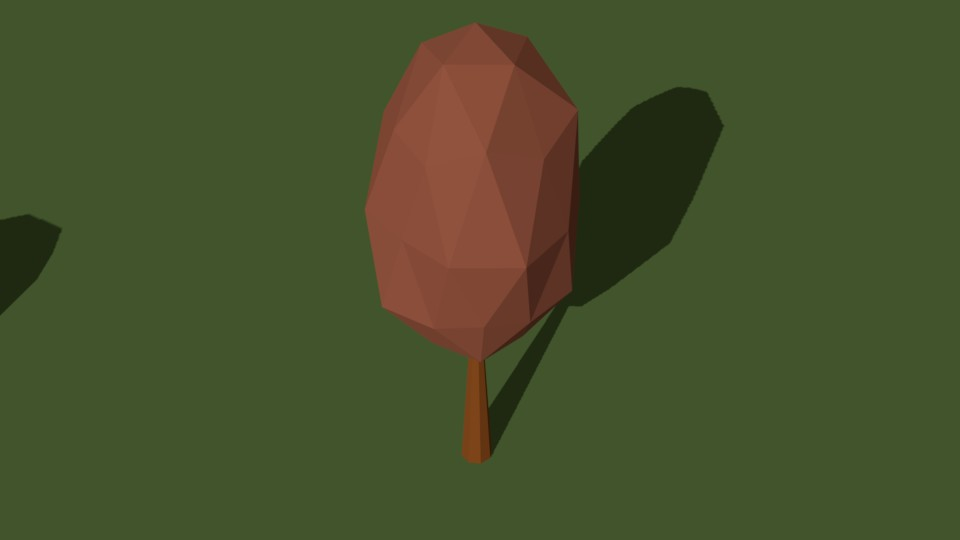 Low Poly Tree 19