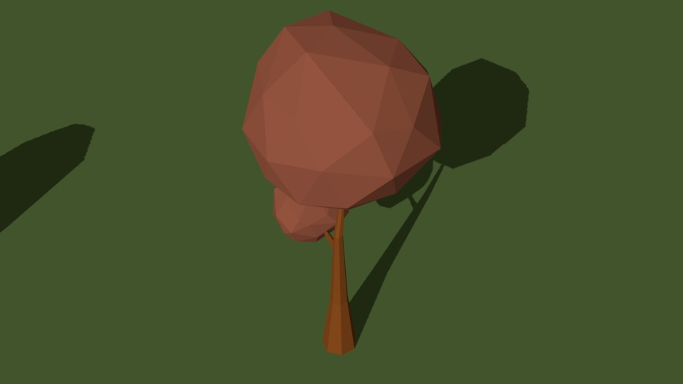 Low Poly Tree 20