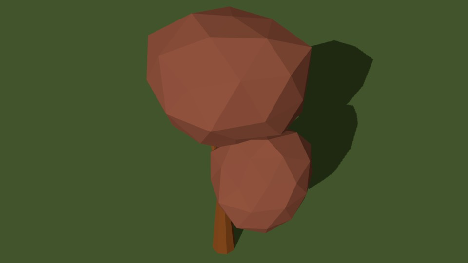 Low Poly Tree 21