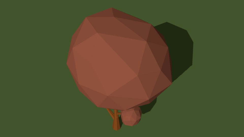 Low Poly Tree 22