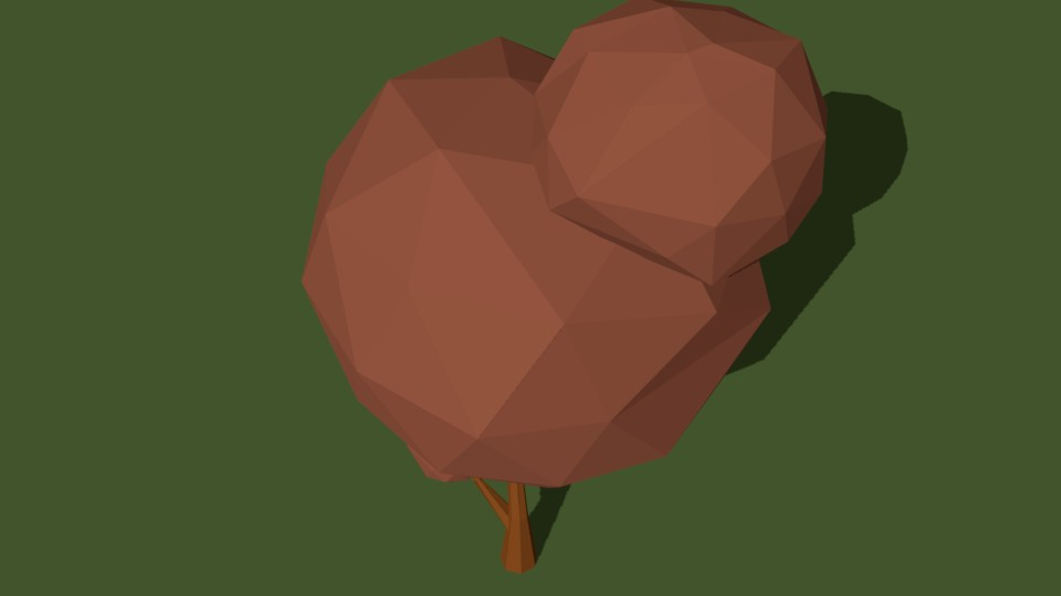 Low Poly Tree 23