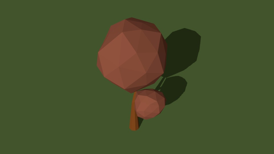 Low Poly Tree 24