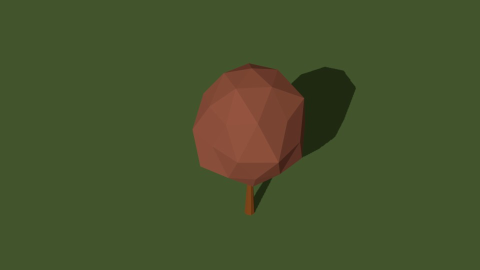 Low Poly Tree 25