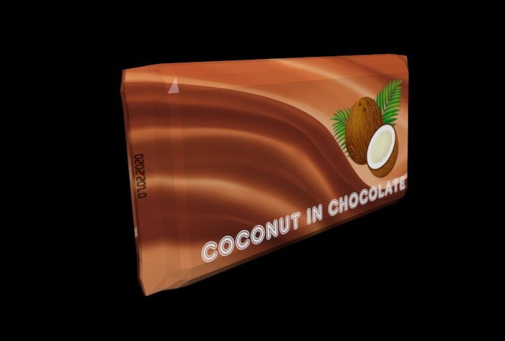 coconut in chocolate