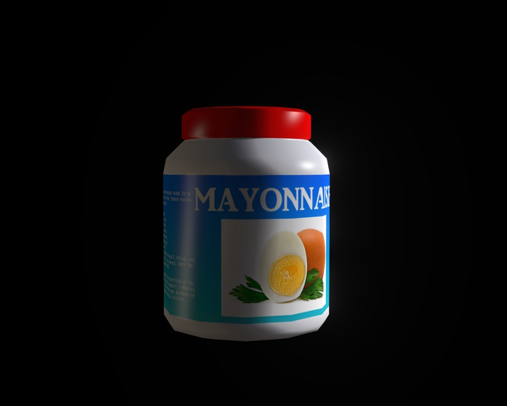 can of mayonnaise