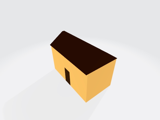 Low poly city home 1