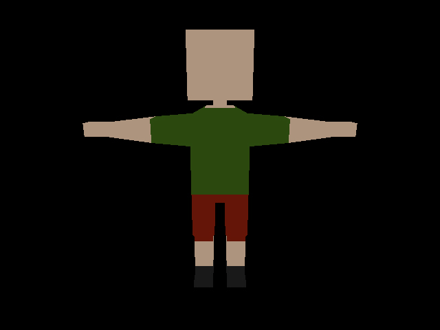 Low Poly Character - 2