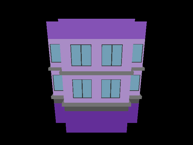 Building - Purple