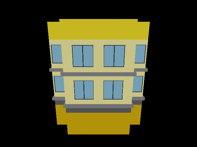 Building - Yellow