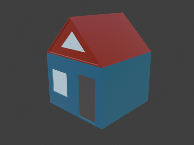 Simple house - 1