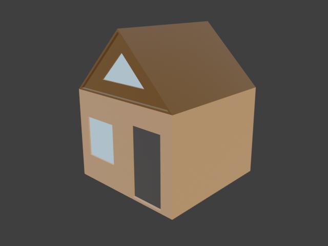 Simple house - 2