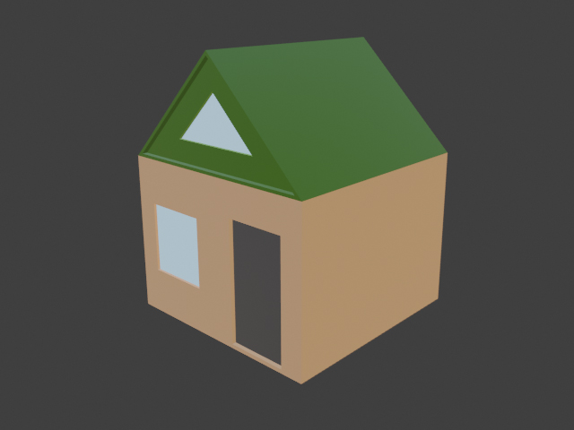 Simple house - 3