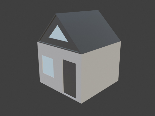 Simple house - 4